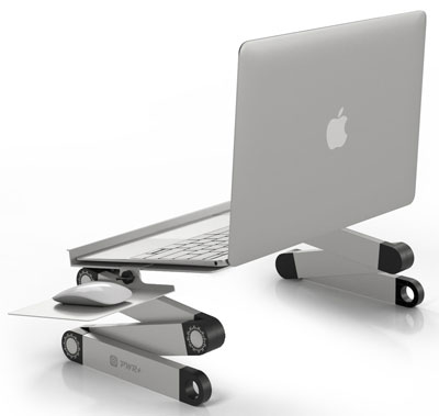 8. PWR+ Portable Laptop Stand