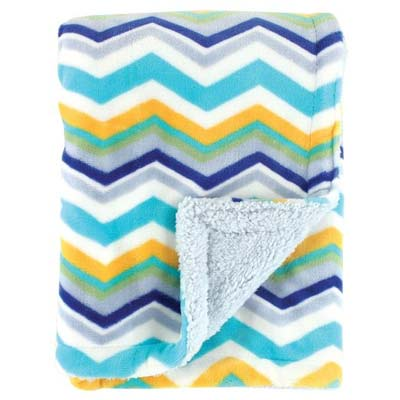 2. Hudson Baby Double Layer Blanket