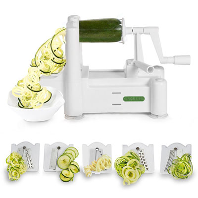 2. Spiralizer 5-Blade Vegetable Slicer