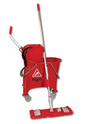 10. UNGSMFPR-Side-press Restroom Mop Bucket