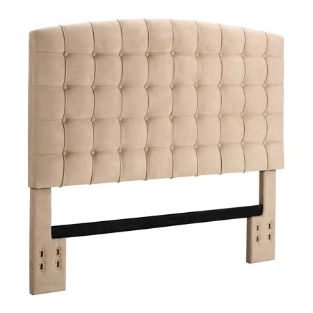 8. Dorel Living Tufted Headboard