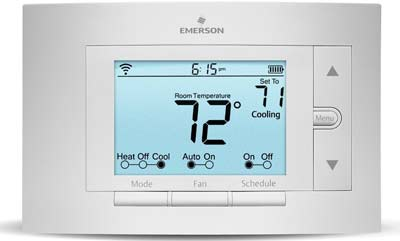 3. Sensi UP500W Wi-Fi Programmable Thermostat