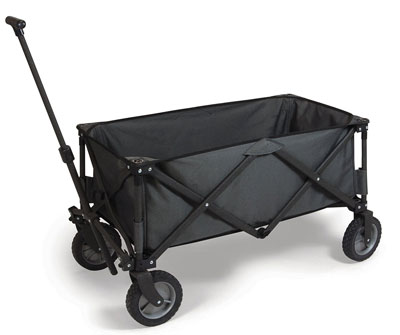 9. Picnic Time Collapsible Wagon (Dark Grey)