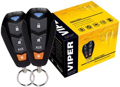 2. 2013 Viper 1-way Car Alarm Security System