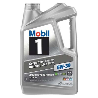 2. Mobil 1 Synthetic Motor Oil (120764)