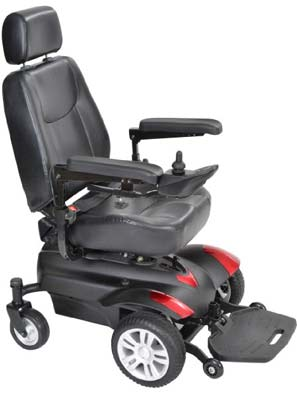 9. Drive Medical titan18cs Power Wheelchair