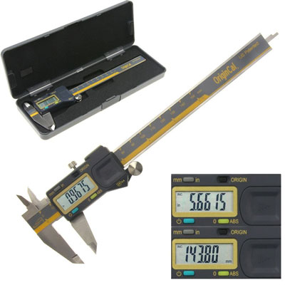 "4. iGaging ABSOLUTE ORIGIN 0-6"" Digital Electronic Caliper"
