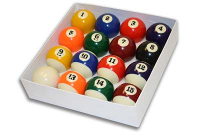 7. Yves Pool Ball Set