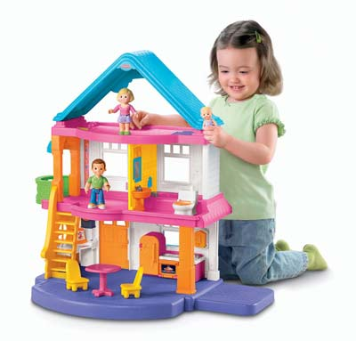 4. Fisher-Price Dollhouse