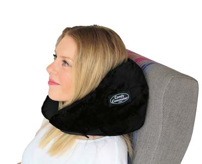 10. Comfy Commuter Travel Pillow