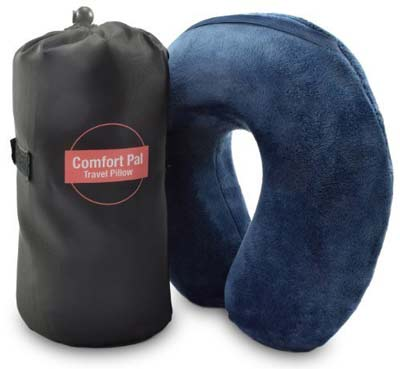 3. Crafty World Ultimate Neck Pillow with Bag