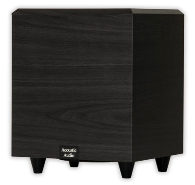 4. Acoustic Audio PSW-6 Powered Subwoofer