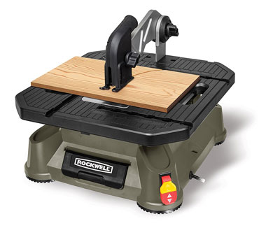 1. Rockwell RK7323 Portable Tabletop Saw