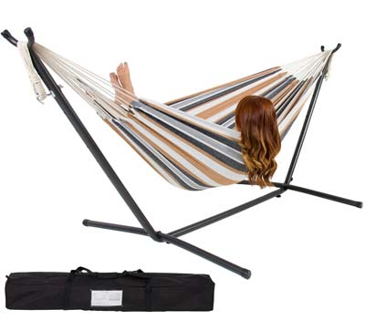 Best Choice Products Double Hammock - Top 10 Best Portable Folding Hammocks In 2017 Reviews
