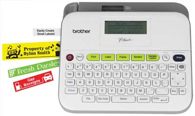 5. Brother Label Maker (PTD400AD)