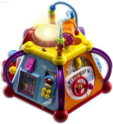 9. WolVol Musical Activity Cube Play Center