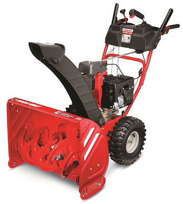 10. Troy-Bilt 2625 243cc 4-cycle Electric Snow Thrower