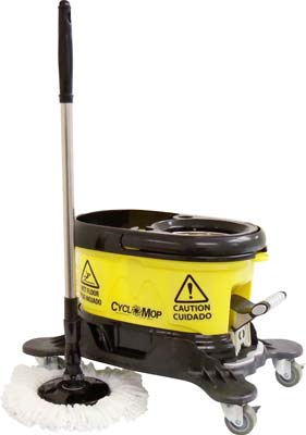 7. CycloMop Commercial Spinning Spin Mop