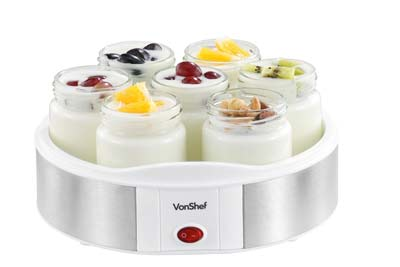 9. Vonshef Yogurt Maker