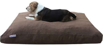 8. dogbed4less Orthopedic Dog Bed Pillow