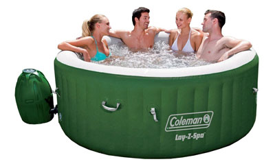 1. Coleman Lay Z Hot Tub