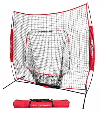 1. PowerNet Baseball and Softball Practice Net