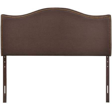 6. LexMod Curl Queen Headboard