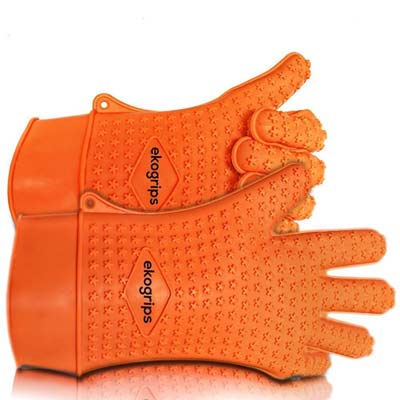 10. Ekogrips Max Heat Resistant Grilling Gloves (L/XL)