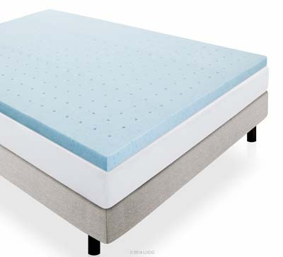 2. LUCID 2-Inch Mattress Topper (Queen)