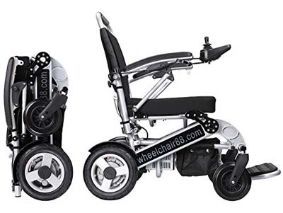 8. Foldawheel Power Chair (PW-1000XL)