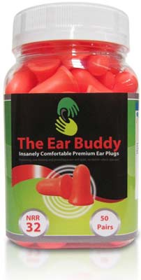 5. Soft Foam Earplugs from The Ear Buddy