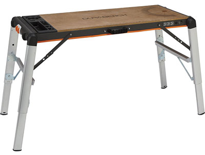 6. XTRA HAND 500-Lb. Capacity Portable Workbench