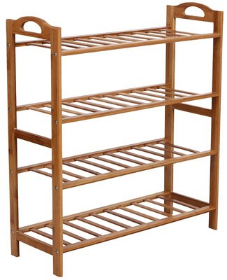 10. SONGMICS ULBS94N 4-Tier Entryway Shoe Rack