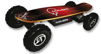 1. Maverix USA 42-Inch 800W Skateboard