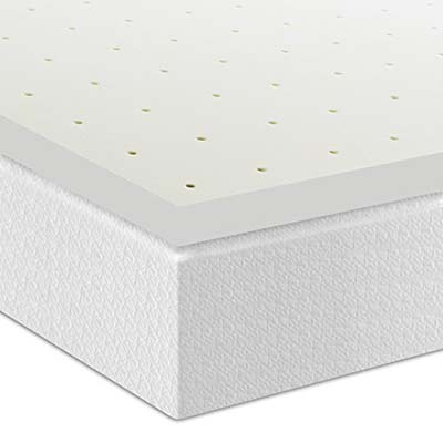 5. Best Price Mattress 2-Inch Mattress Topper (Queen)