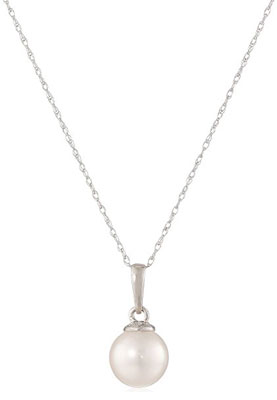"9. Amazon Collection 14k Gold 18"" Pendant Necklace"