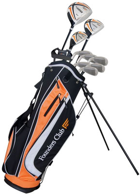 9. Founders Club Mens Complete Golf Set