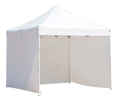 9. Abba Patio 10-Feet-by-10-Feet Outdoor Canopy (White)