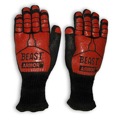 8. Grill Beast BBQ Grilling Cooking Gloves