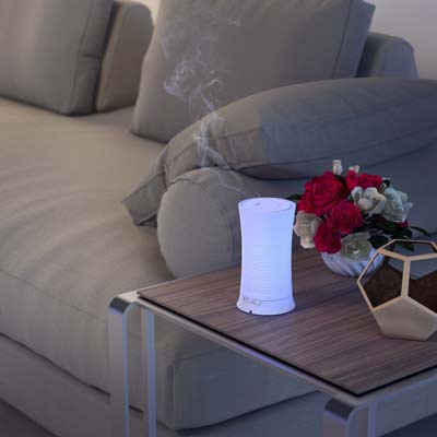 2. Calily Ultrasonic Essential Oil Diffuser Aromatherapy (with Multi-Color LED Light)