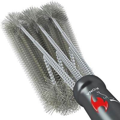 3. Kona 360-degree Clean Grill Brush