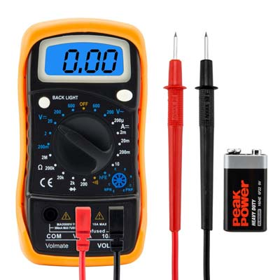 5. Volmate Digital Multimeter