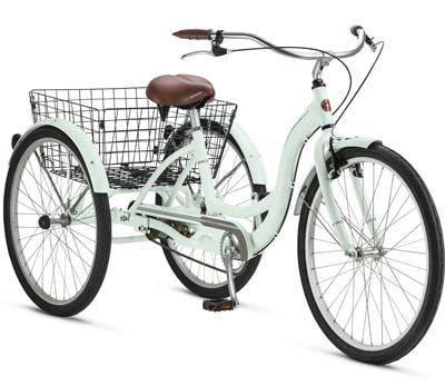 5. Schwinn Meridian 26-Inch Adult Tricycle