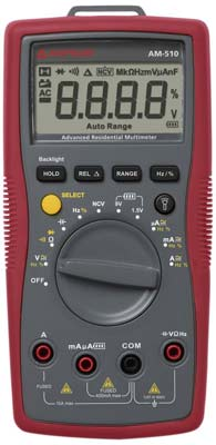 10. Amprobe AM-510 Multimeter