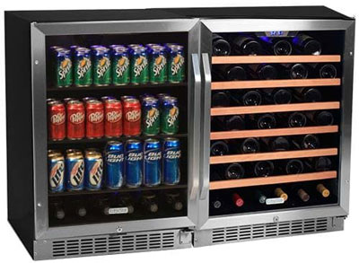 8. EdgeStar 53 Bottle + 148 Can Beverage Center (CWBV14853)