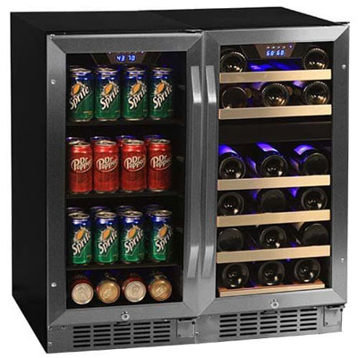 7. EdgeStar 26 Bottle + 80 Can Beverage Center (CWBV8026)