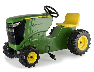 9. TOMY Plastic Pedal Tractor (Green)