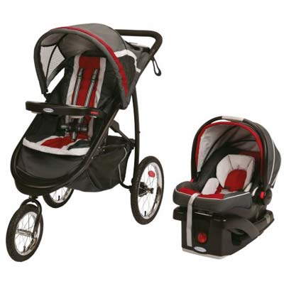9. Graco Jogger Click Travel System
