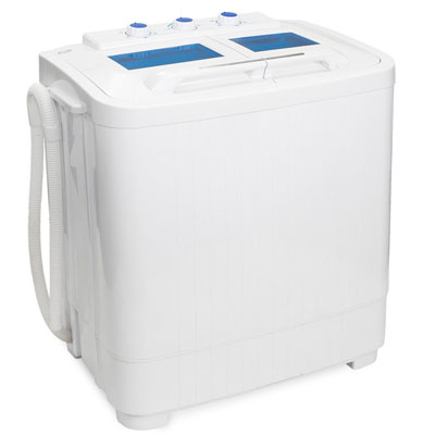 3. XtremepowerUS Portable Washer & Spin Dry Cycle (33L Washer and 16L Spin Dryer)