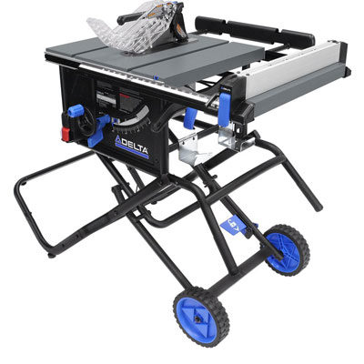 "9. Delta 36-6020 10"" Portable Table Saw"